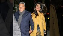 George Clooney -- Teacher's Pet ... Scores Extra Credit with Professor Amal