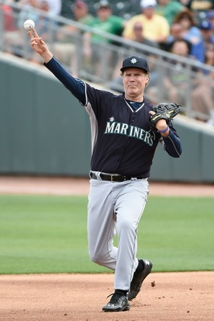 Will Ferrell -- MLB Spring Training