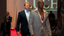 Roger Clemens -- ROCKET HITS THE RUNWAY ... At Houston Fashion Event