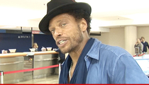Gary Dourdan's Ex Girlfriend -- Just 'Cause You're Broke ... You Still Owe For Busting My Nose