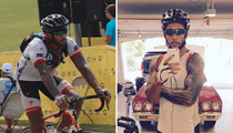 NFL's Kellen Winslow Jr. -- I Want to Go Pro ... In Cycling!!!