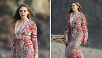 Elizabeth Olsen - Cover-Up in Malibu