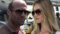 Jason Statham & Rosie Huntington-Whiteley -- Takin' The Next Big Step ... A Ballin' Bev Hills Hideaway