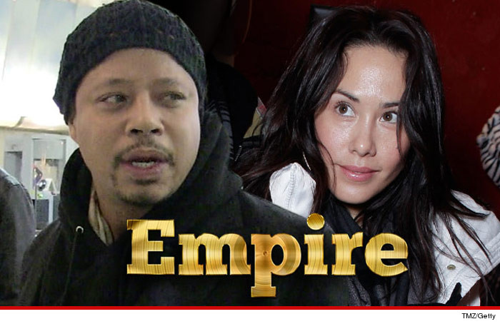 Terrence Howard's Ex-Wife Move Over, Cookie ... I'm Taking My Cut of the 'Empire'