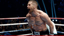 Jake Gyllenhaal -- Scary Jacked ... For New Boxing Flick