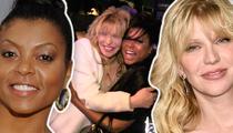 Taraji P. Henson -- So Much Love for Courtney ... It Might Kill Her (TMZ TV)