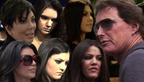 Bruce Jenner -- Kris and the Girls Won't Mess Up My Big Interview