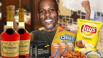 DMX -- Condoms, Cigs & Henney, Please ... My Hotel Room Is So 'Hood!
