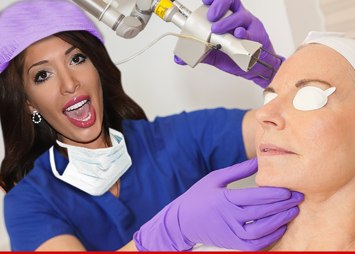 Farrah Abraham -- On Her Way To Becoming Dr. Backdoor Teen Mom
