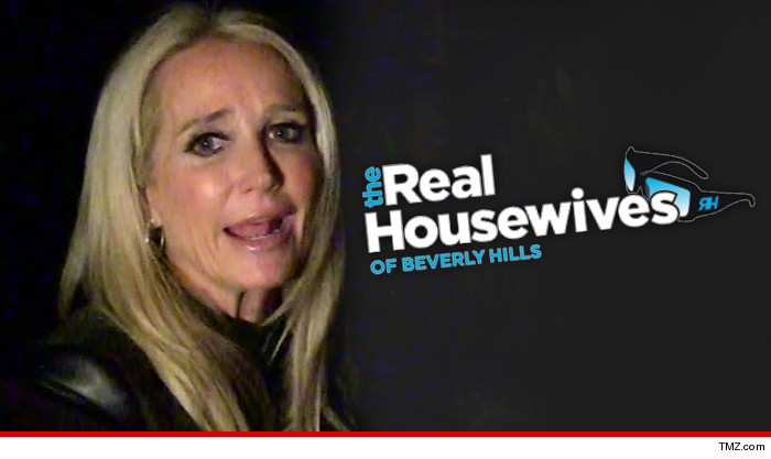 Kim Richards Off the Wagon or Stone Cold Sober Someone's a Liar