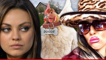 Mila Kunis Sued -- You Stole My Chicken, So Cluck You!!!