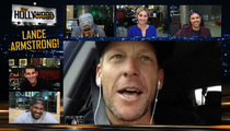 Lance Armstrong -- Ice Driving Was a Bad Idea [Video]
