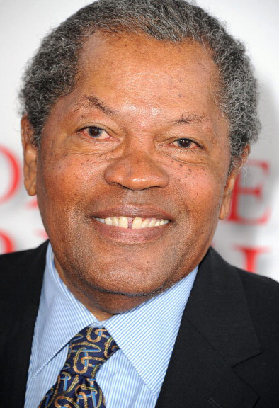 """Clarence Williams III was photographed at a Los Angeles movie premiere looking """"Half Baked."""""""