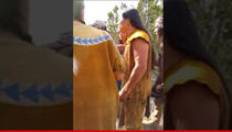 Adam Sandler Movie -- Native Americans Confront Producers ... We're No Sellouts! (VIDEO)