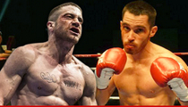 Jake Gyllenhaal -- DUDE CAN FIGHT ... Says World Champion Co-Star