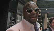 Terry Crews -- Vernon Davis Is No Joke ... Acting Chops Are Legit
