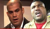 Tito Ortiz & Rampage Jackson -- Admit Defeat in Trash Talking Lawsuit