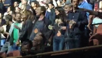 George Clooney, Amal, Cindy Crawford and Rande Gerber Show Off Dance Moves at U2 Concert (VIDEO)