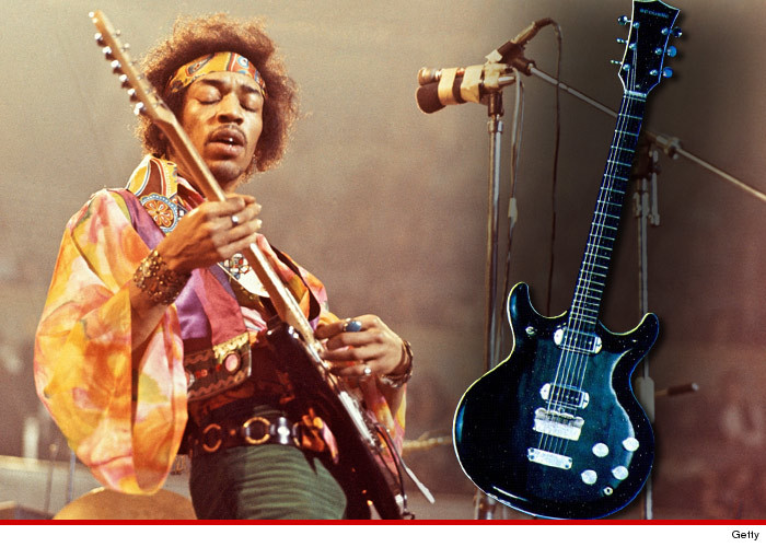 One Of Jimi Hendrixs Fabled Axes Was Allegedly Stolen By A Guy Whos Now Trying To Cash In Selling The Guitar But Money Men Behind Jimis Estate