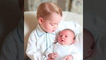 Princess Charlotte -- First Photo Shoot with Prince George ... Get in Line, Sis!