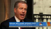 Brian Williams -- Deception Excuse Makes No Sense (VIDEO)