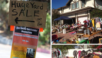 Tori Spelling And Dean McDermott -- #SummerSale … Everything Must Go Yard Sale (PHOTOS)