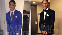 NBA Draft Pics -- Ballin' Out With Pimp Suits ... For Big Night