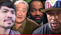 Pacquiao vs. Mayweather -- Promoter Sues Manager for $100 Mil ... He's 'Rigging Boxing'