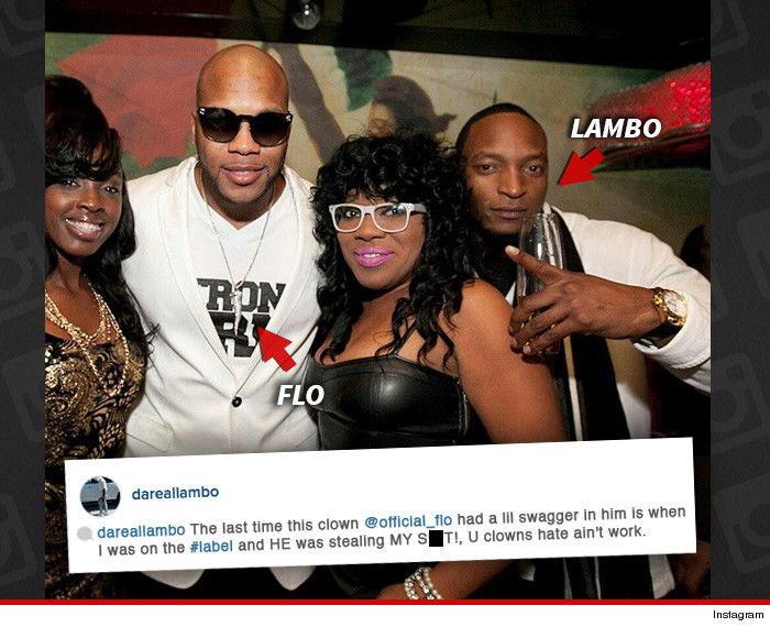 LeBron James Mom's Boyfriend Starts Beef ... With Flo Rida