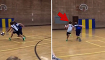 Britney Spears' Son -- Flashes Of LeBron ... Lockdown Defense In Hoops Game