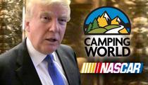 Huge NASCAR Sponsor -- Boycotting Trump ... He's a Racist, Bigot