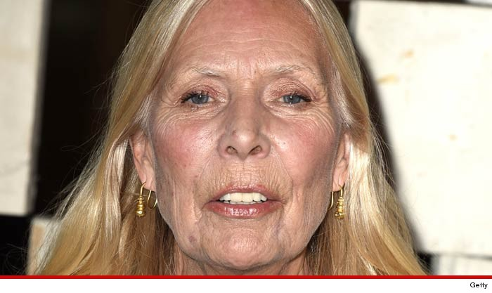Joni Mitchell Condition Improving ... Full Recovery Expected