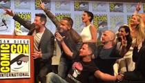 Stan Lee -- X-ecutes Greatest Superhero Selfie ... Ever