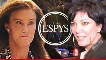 Caitlyn Jenner -- I Want My Whole Family at the ESPYs, Except ...