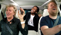 Rod Stewart -- Epic Sing-A-Long With A$AP Rocky (Video)