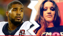NFL's Arian Foster -- Wife Files for Divorce ... After Baby Mama Drama