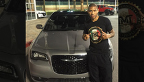 Floyd Mayweather Jr. -- Surprises Protege With Brand New Whip