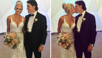 NHL's T.J. Oshie -- Marries Smokin' Hot Blonde (Pics)