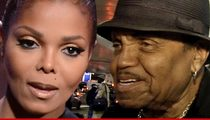 Janet Jackson -- Member of the Jackson 1 ... Caring for Joe