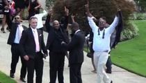Bobbi Kristina -- Post Funeral Party Celebrating Life (VIDEO)