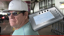 Pete Rose -- Takes Lie Detector Test ... Will New Commish Buy It?
