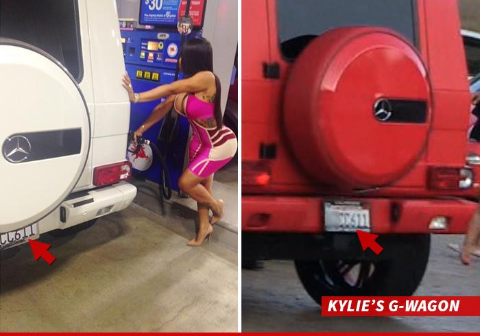 Tyga Happy Birthday Kylie ... Hope You Like the SUV as Much as Blac Chyna!