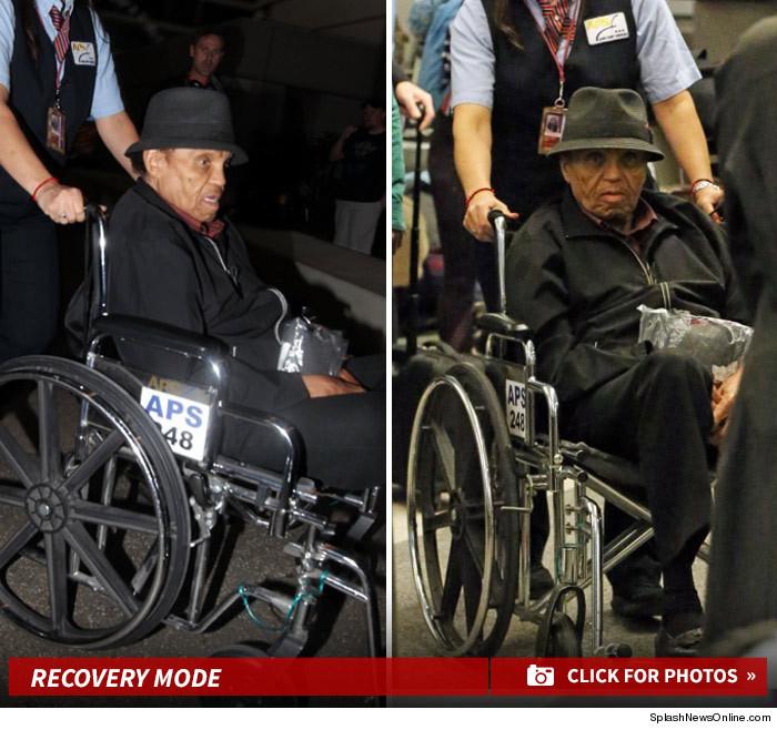 joe jackson finally home after brazilian health scare photos