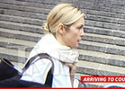 Kelly Rutherford -- Shows Up for Court, But WITHOUT the Kids