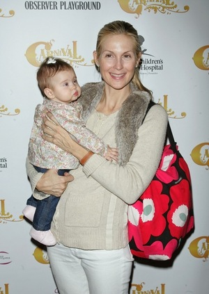 Kelly Rutherford & Her Children