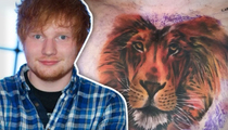 Ed Sheeran -- My Mane Man Is All Over My Chest (TMZ TV)