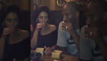 Kobe Bryant -- Sipping on Sake!! Blame Vanessa Or Maybe He's All Growed Up (VIDEO)