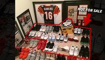Browns Andrew Hawkins -- All Yeezys MUST GO ... But Don't Touch My Jordans!