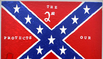 George Zimmerman -- Buy My Confederate Flag Paintings ... Win a Prize