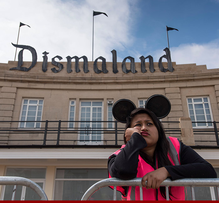 Take A Video Tour Of Banksys Dismaland Bemusement Park pictures